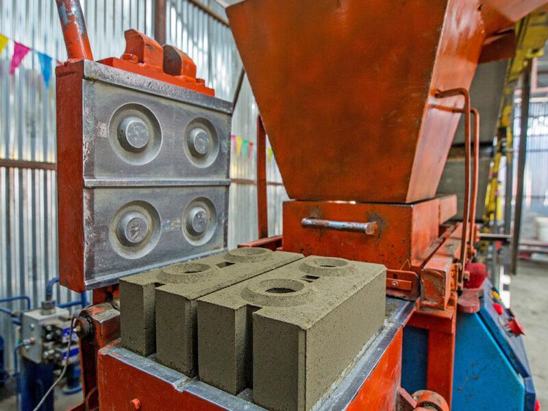 Interlocking CSEB Brick machine hydraulic
