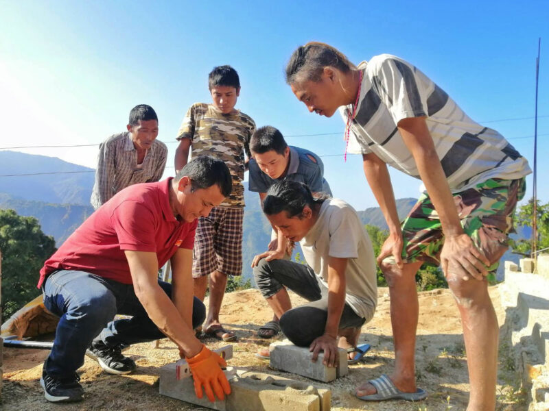 Training on eco-friendly housing