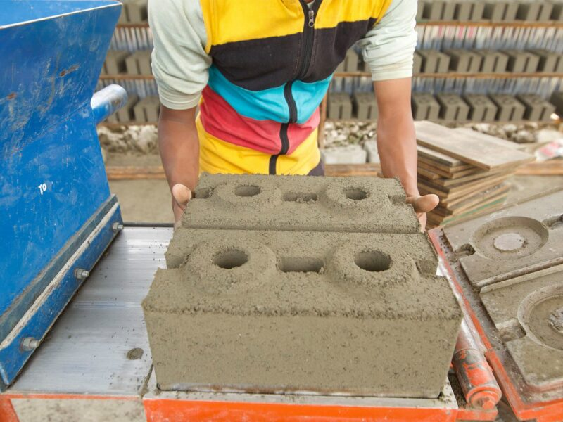 Training on use of Interlocking brick in construction