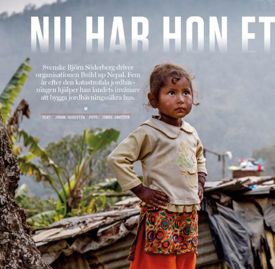 Byggindustrin Build up Nepal